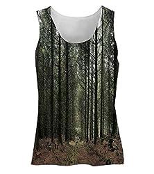 Snoogg Dense Walking Way Womens Tunic Casual Beach Fitness Vests Tank Tops Sleeveless T shirts