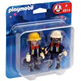 Playmobil - 4914 - Jeu de construction - Playmobil Duo Pompiers