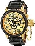 Invicta Men's 14616 Russian Diver Analog Display Swiss Quartz Black Watch