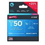 Arrow 508 Genuine T50 1/2-Inch Staple...