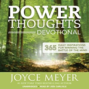 Power Thoughts Devotional: 365 Daily Inspirations for Winning the Battle of the Mind | [Joyce Meyer]