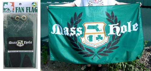 Mass Hole (Crest) Banner / Flag