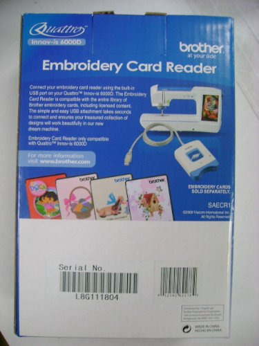 big save brother embroidery card reader best embroidery