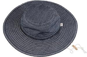 Angela's Garden 7207-200 Womens Cotton Garden Hat with UPF 45 Protection, Denim (Discontinued by Manufacturer)