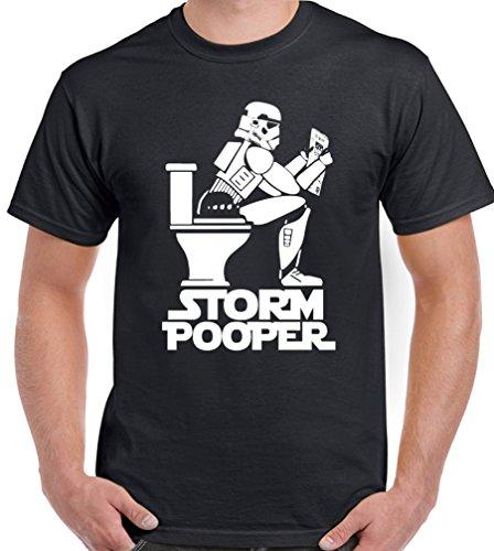 Storm Pooper - Mens Funny T-Shirt SPX3 -