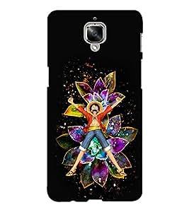 EPICCASE Happy Boy Mobile Back Case Cover For OnePlus Three (Designer Case)