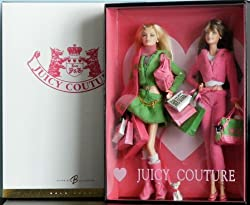 2004 Gold Label JUICY COUTURE BARBIE Collectible Doll Gift Set