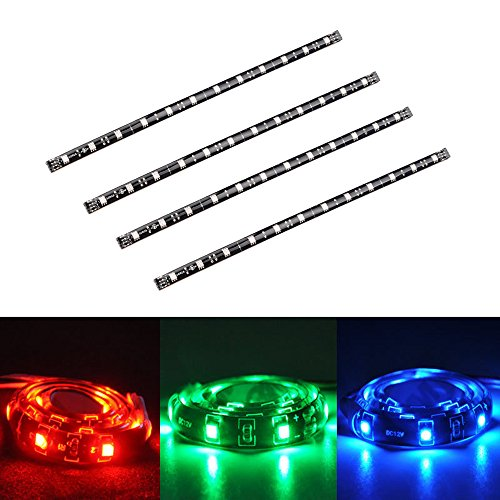 avawo led tv backlight light kit computer rgb led light strip mini kit pre cut multicolor rgb. Black Bedroom Furniture Sets. Home Design Ideas