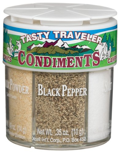 Dean Jacobs 6 Tasty Traveler Condiments, 2.86-Ounce Regular Jars (Pack of 4)