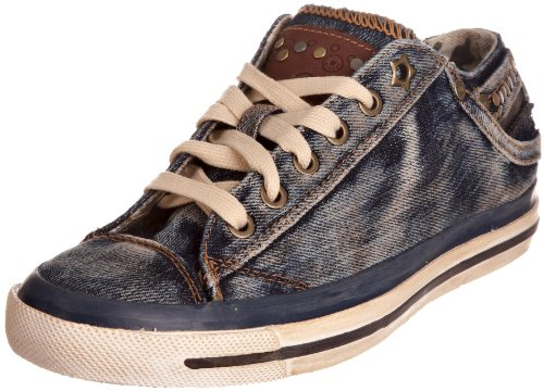 Diesel Women's Exposure Iv Low W Dust Y Blue Lace Up Trainer Y00060Ps462T6178 5 UK
