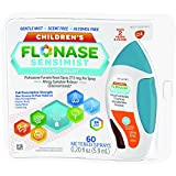 Flonase Children's Sensimist 24hr Allergy Relief Nasal Spray, Gentle Mist, Scent-Free, 60 sprays
