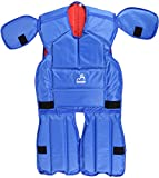 Macca Unisex Synthetic Rugby Tackle Suit Reversible, Blue and Red (Pack Of 1)