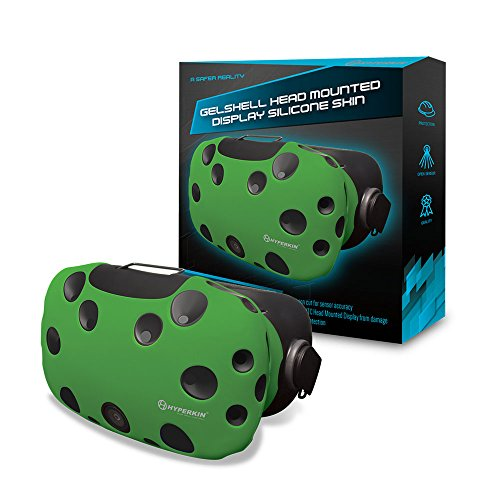 Hyperkin HTC Vive GelShell Head Mounted Display Silicone Skin (Green) - PC