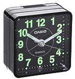 Casio Desk Bedside Travel Alarm Clock TQ140 Black