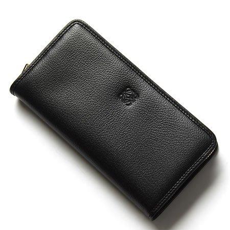 (ロエベ) LOEWE ラウンドファスナー 長財布[小銭入れ付き] AMAZONA/アマソナ POLISHED GOATSKIN BLACK [並行輸入品]