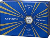 Callaway(キャロウェイ) CHROME TOUR ゴルフボール(1ダース12個入り) 2016年モデル ボールカラーホワイト  64232531200117 ホワイト
