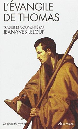 LÉvangile Thomas Jean Yves Leloup