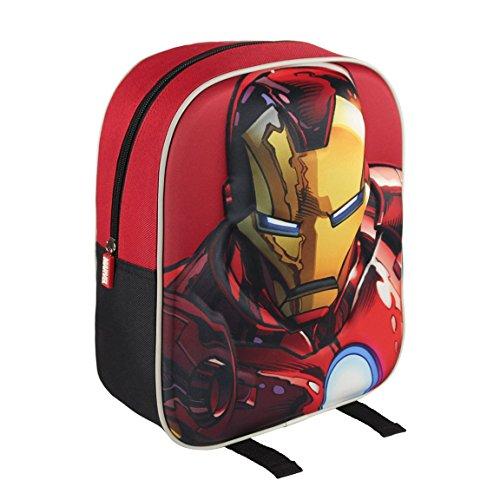 Marvel 210000160031cm Iron Man 3d character Junior Zaino