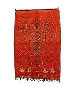 Design Community By Loomier Alfombra Ma Maroc Barber Old (Rojo)