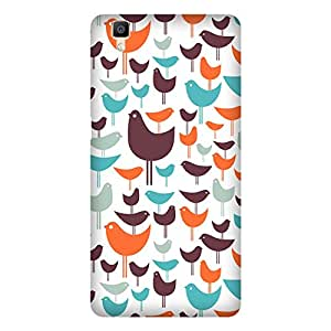 Super Cases Printed Back Cover For Oppo R7 S