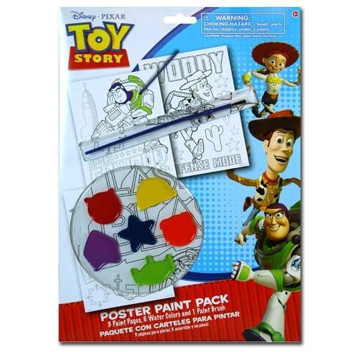 Disney Toy Story 10 Piece Personalized Doodle Paint Kit