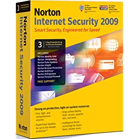 Norton Internet Security 2009 - 1 User 3 Computers (PC)