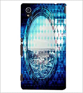 PrintDhaba Beer D-4865 Back Case Cover for SONY XPERIA M4 AQUA (Multi-Coloured)