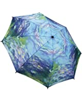 MONET Water Lilies FOLDING UMBRELLA auto release
