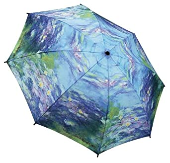 Galleria Monet Water Lilies Auto Super-Mini Umbrella (Water Lilies)