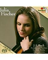 J.S. Bach : Sonates et partitas pour violon seul,  BWV 1001-1006 [Hybrid SACD]