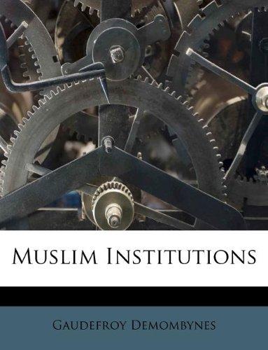 Muslim Institutions
