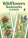 Wildflowers Bookmarks: 12 Designs (Dover Bookmarks)