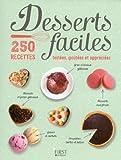 Desserts faciles - 250 recettes testées, goûtées et appréciées...