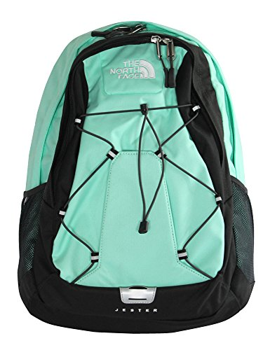 The North Face women's Jester BP laptop Backpack BOOK BAG SURF GREEN (Southern Company Book compare prices)
