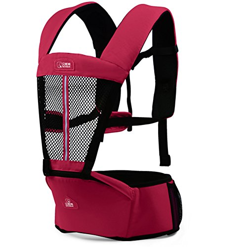 Baby Carrier 4-Way Infant Newborn Comfort Backpack Inwards/Outwards/Back/Front - 1