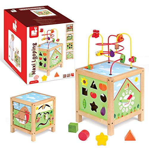 Janod Garden Themed Maxi Spiral Looping Toy - 1