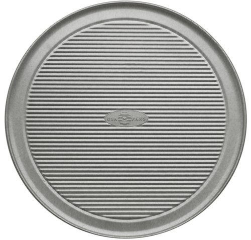 USA Pans 12-Inch  Pizza Pan, Aluminized Steel with Americoat