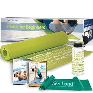 Stott Pilates Pilates for Beginners Workout Kit by Stott Pilates
