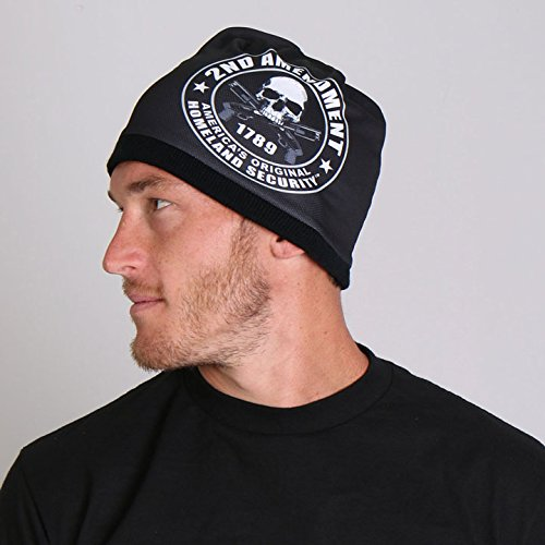 hot-leathers-2nd-amendment-soft-cotton-with-bright-sublimated-design-snug-fit-beanie-black