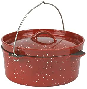 Enamel Cast Iron 8 - qt. Dutch Oven