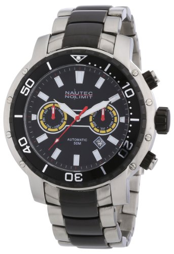 Nautec No Limit BE AT/STIPSTBKBK - Men's Watch, Stainless Steel inox, Color: multiColor