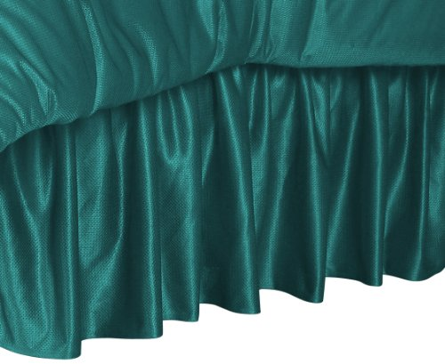 Nfl Miami Dolphins Bedskirt, Twin front-815823