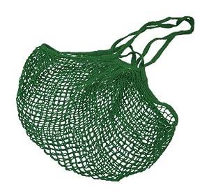 Amazon.com: Better Houseware Cotton Net Shopping Bag, Green: Home