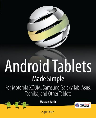 Android Tablets Made Simple: For Motorola XOOM, Samsung Galaxy Tab, Asus, Toshiba and Other Tablets (Android Programming Online Shop compare prices)