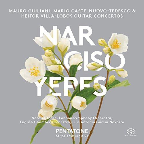Giuliani, Castelnuovo-Tedesco & Villa-Lobos: Guitar Concertos