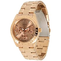 Guess u13623L1 rose gold dial stainless steel bracelet women watch NEW