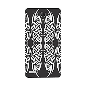 Digi Fashion Designer Back Cover with direct 3D sublimation printing for Redmi Note Prime