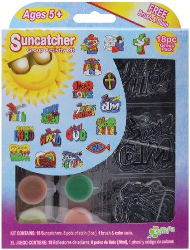 The New Image Group Suncatcher Group Activity Kit, Religious 18/Pkg
