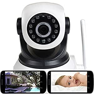 VideoSecu Wireless IP Video Audio Baby Monitor