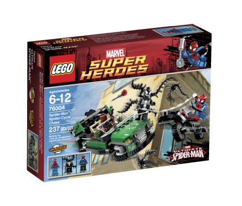 LEGO-Super-Heroes-Spider-Cycle-Chase-76004-Discontinued-by-manufacturer